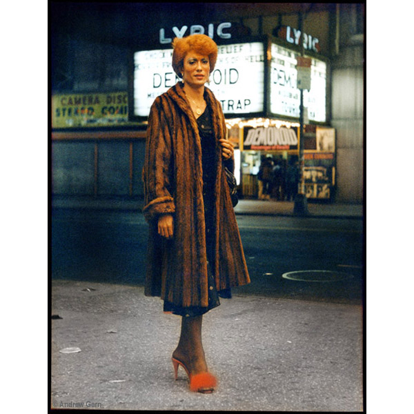 Lady in Fur, Anco theatre, 42nd St, NYC