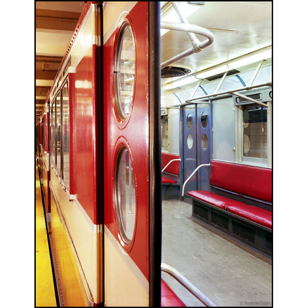redbird IRT subway car